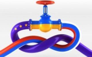 Текущая спотовая цена на газ для Европы
