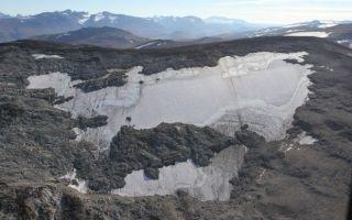 Потерянное в каменном веке находится в тающих ледниках