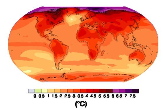 climate temperature increase