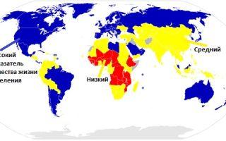 Количественные показатели качества жизни населения