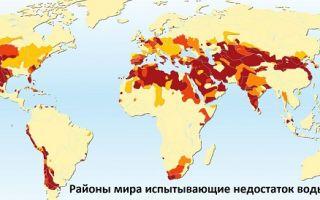 Наиболее вероятный конфликт – война за воду