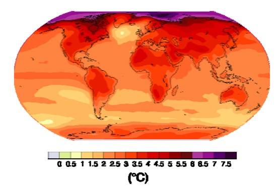 climate temperature increase