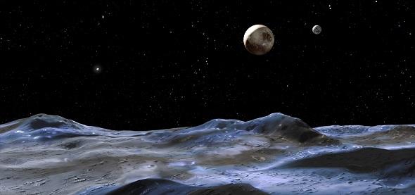 карликовые планеты плутон и харон