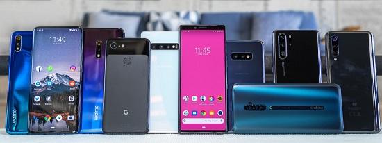Лидеры продаж смартфонов